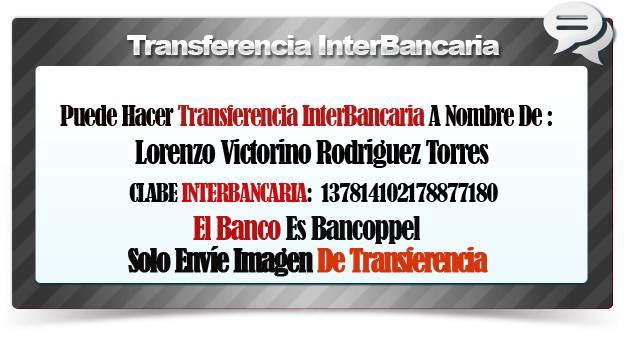 transferencia interbancaria