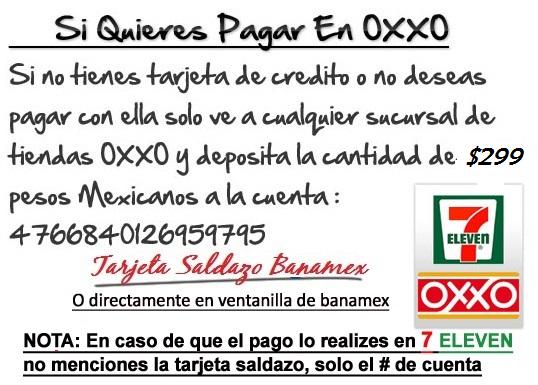 CUENTA OXXO